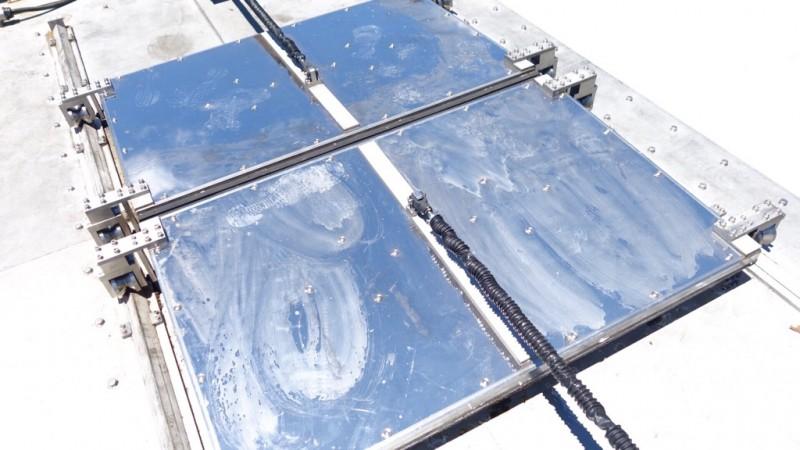 業務用生ゴミ処理機1000kg機 投入口