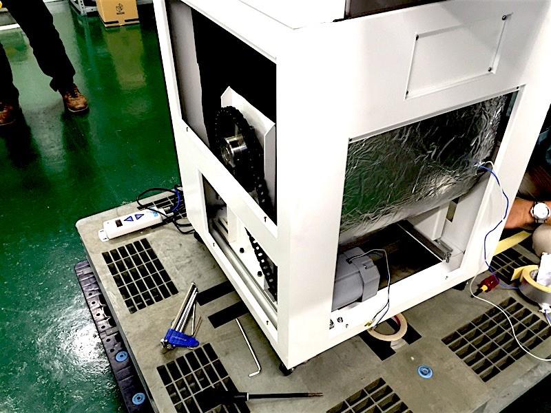 """業務用生ゴミ処理機 新型10kg機 機械開発 """"その8"""""""