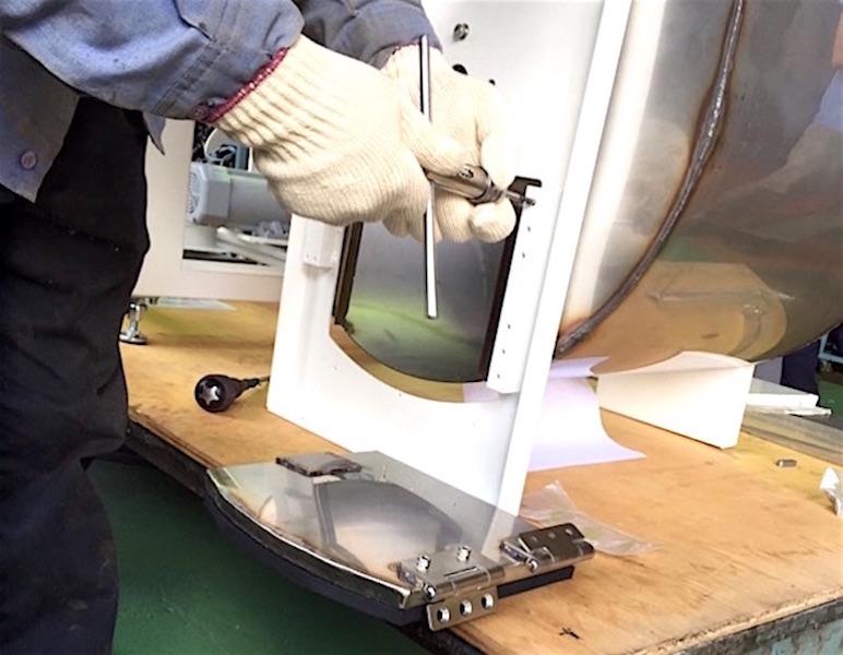 """業務用生ゴミ処理機 新型10kg機 機械開発 """"その3"""""""