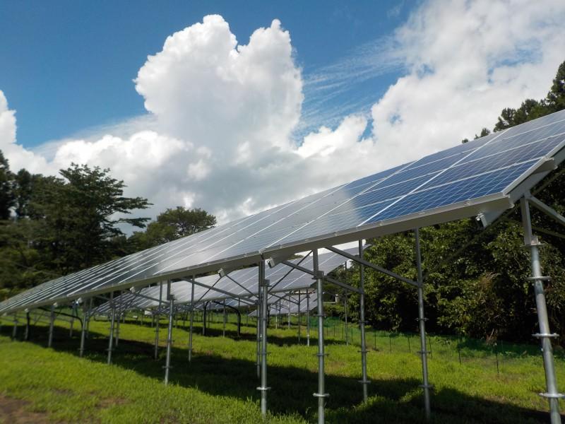 【その3】太陽光パネルの設置